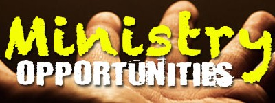 Ministry Opportunity