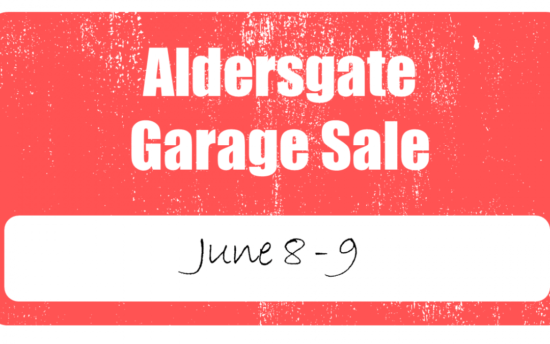 Garage Sale | Aldersgate United Methodist Church